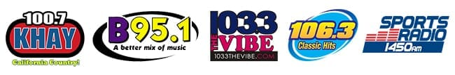 Cumulus Radio: 101.7 KHAY, B95.1, 103.3 The Vibe, 106.3 Classic Hits, Sports Radio 1450am